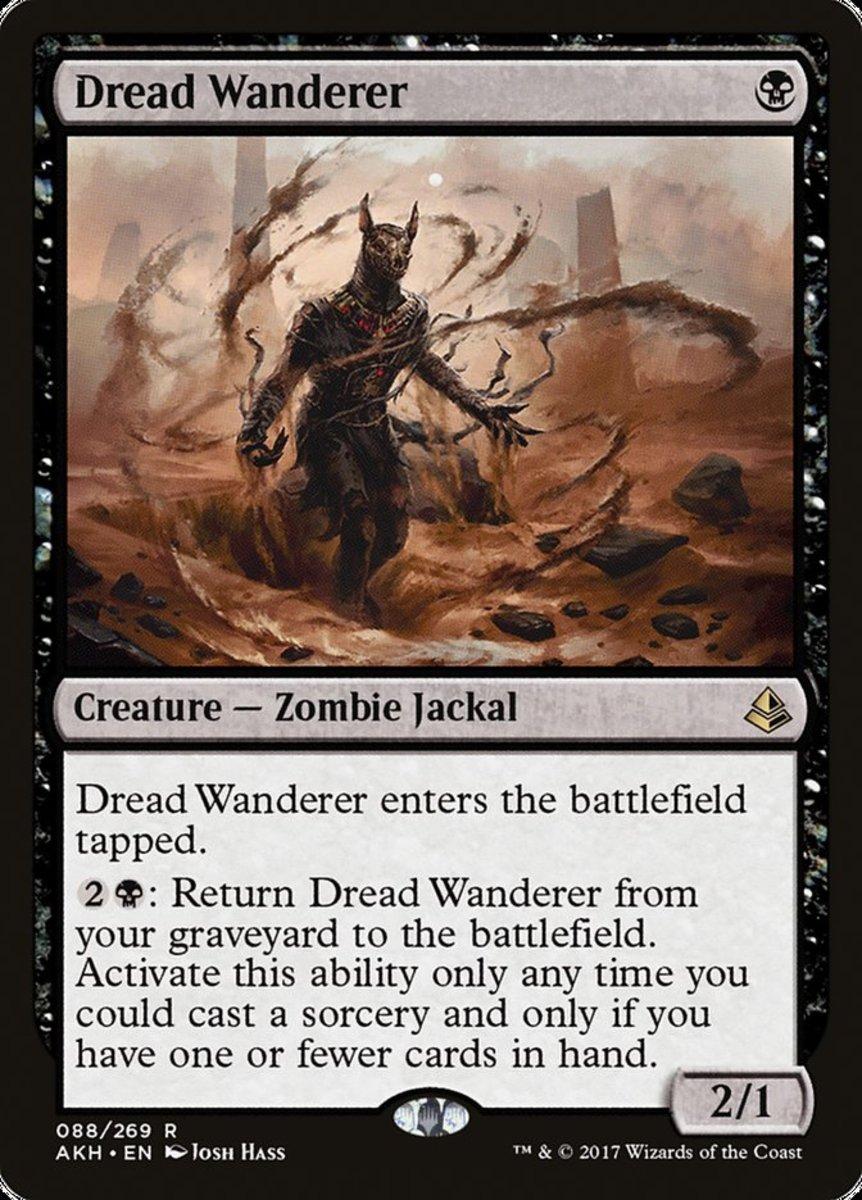 Dread Wanderer mtg