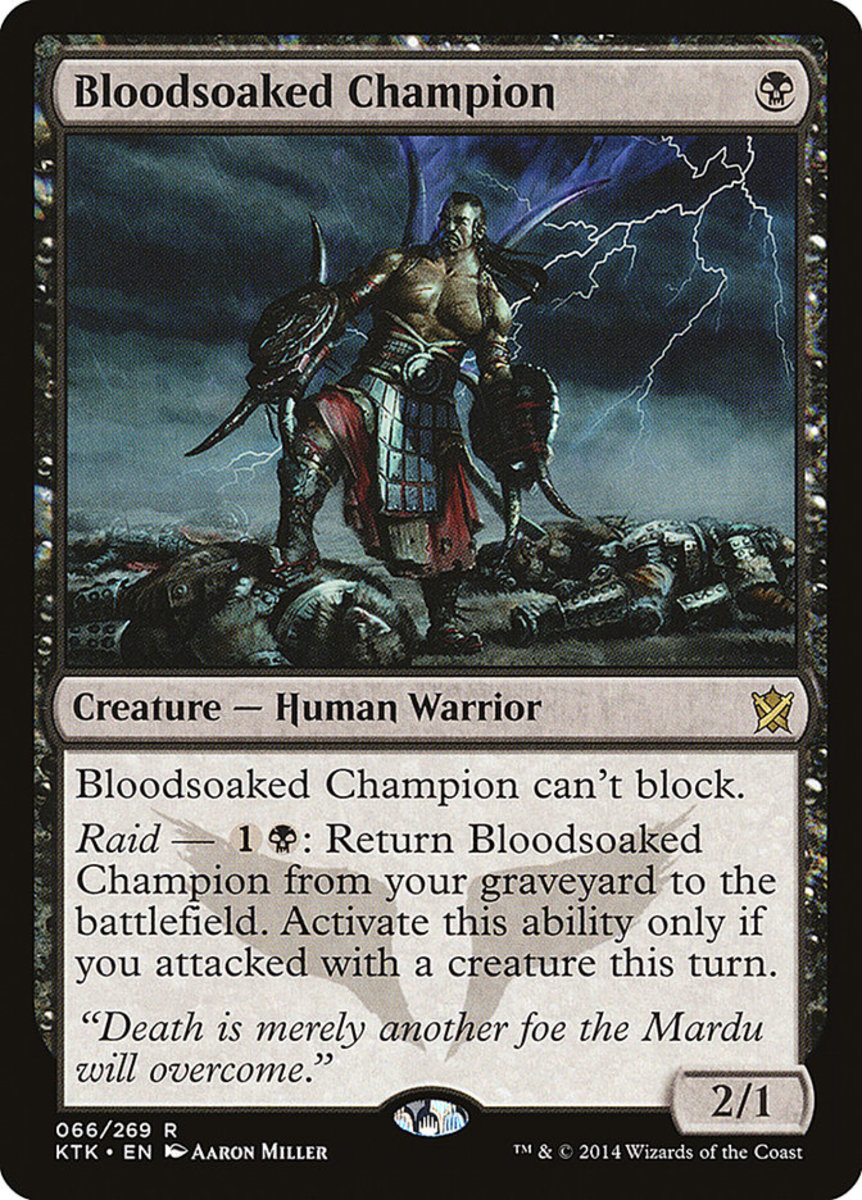 Bloodsoaked Champion mtg