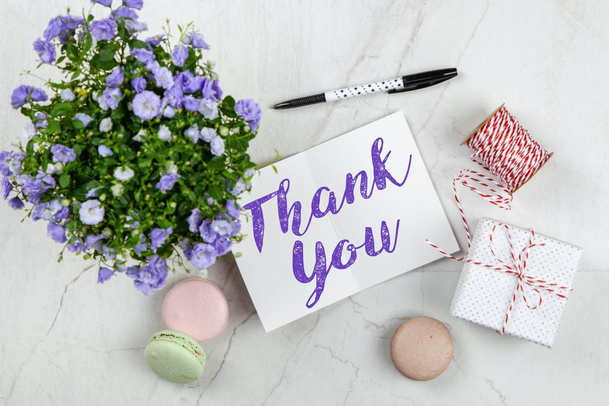 The right words in a thank-you note will let the gift-giver know how much you appreciate your gift.