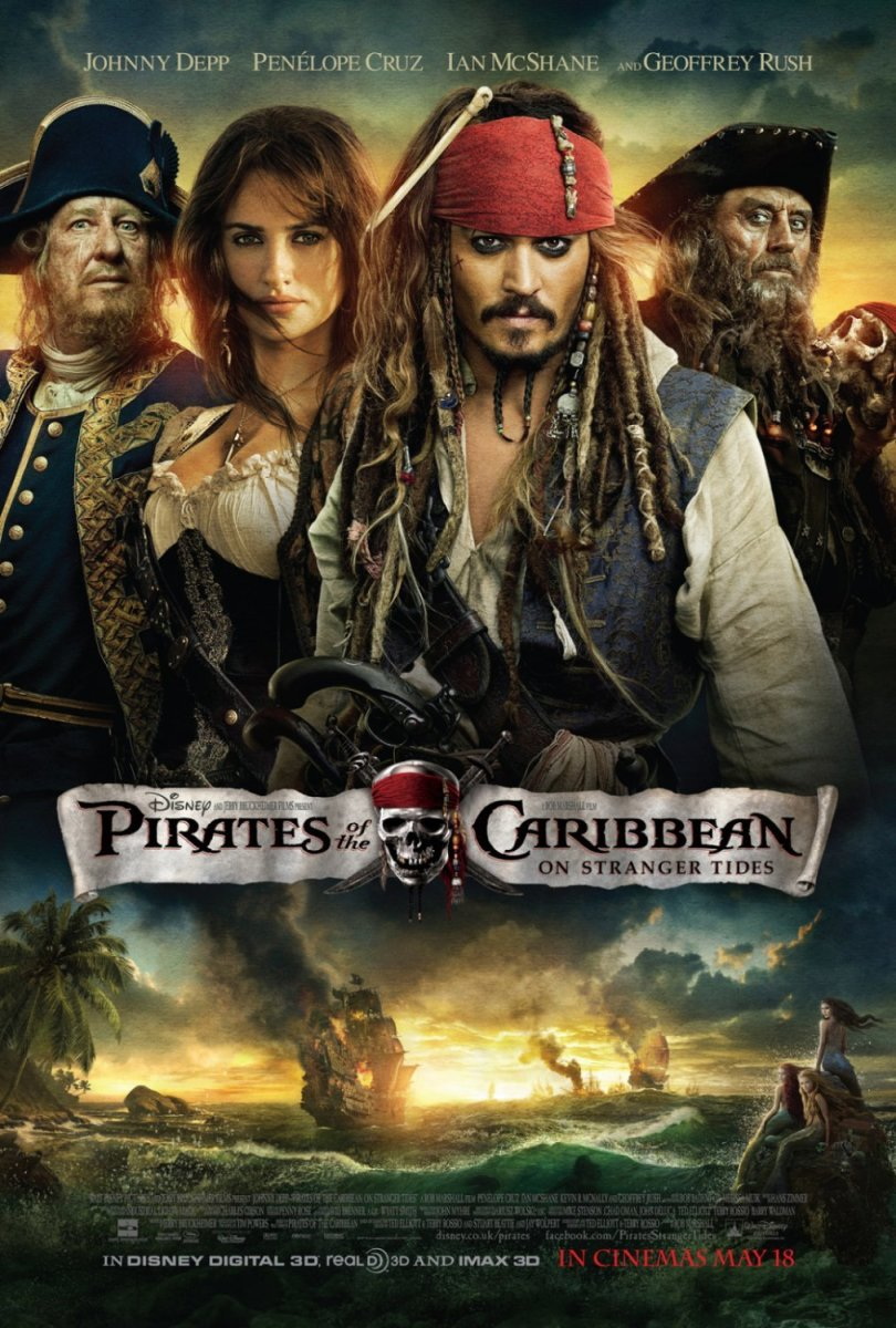"Vault Movie Review: ""Pirates of the Caribbean: On Stranger Tides"""