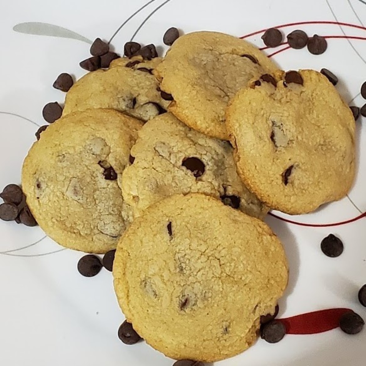 This chocolate chip cookie recipe is the result of much trial and error!