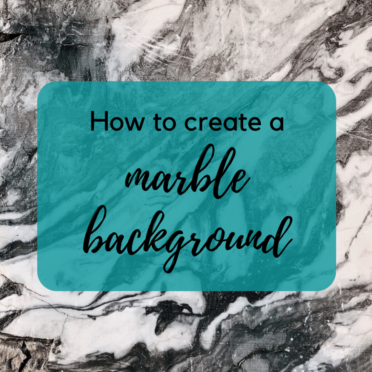 Learn how to create a marble background in Adobe Photoshop