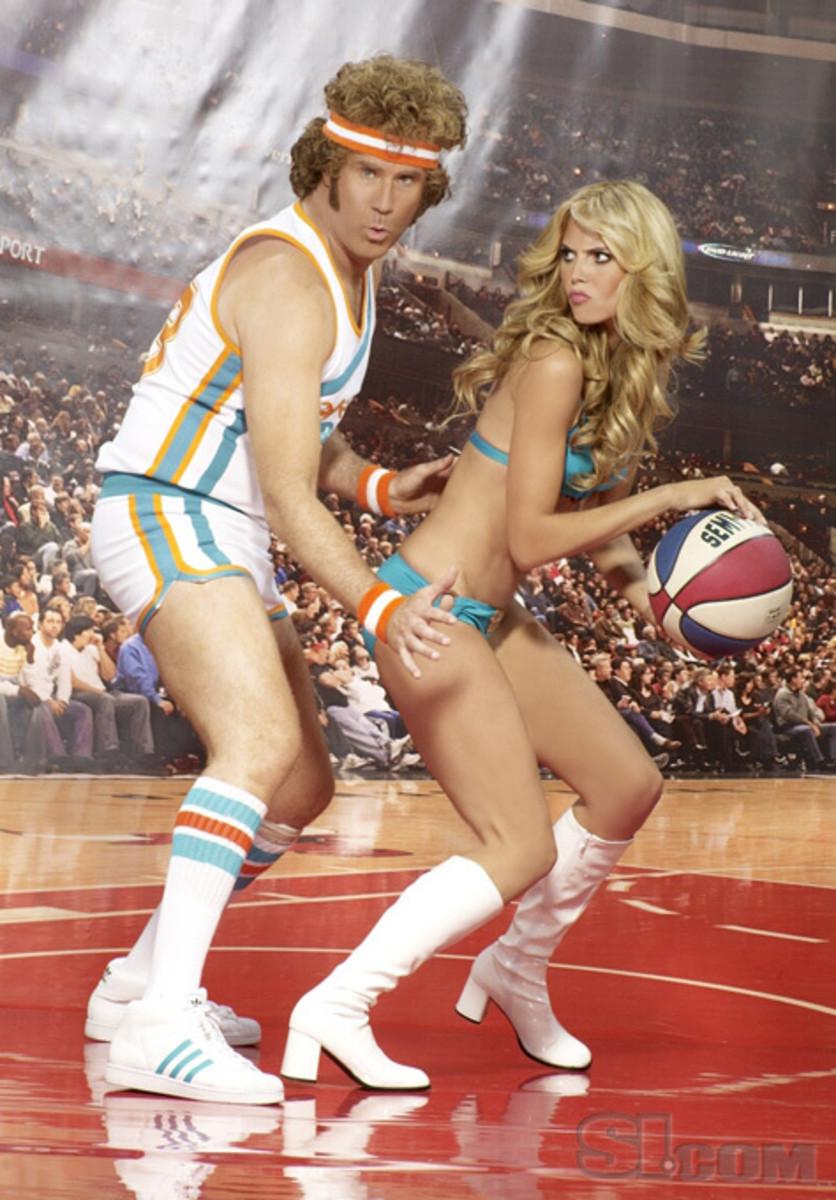 Heidi Klum with Will Ferrell