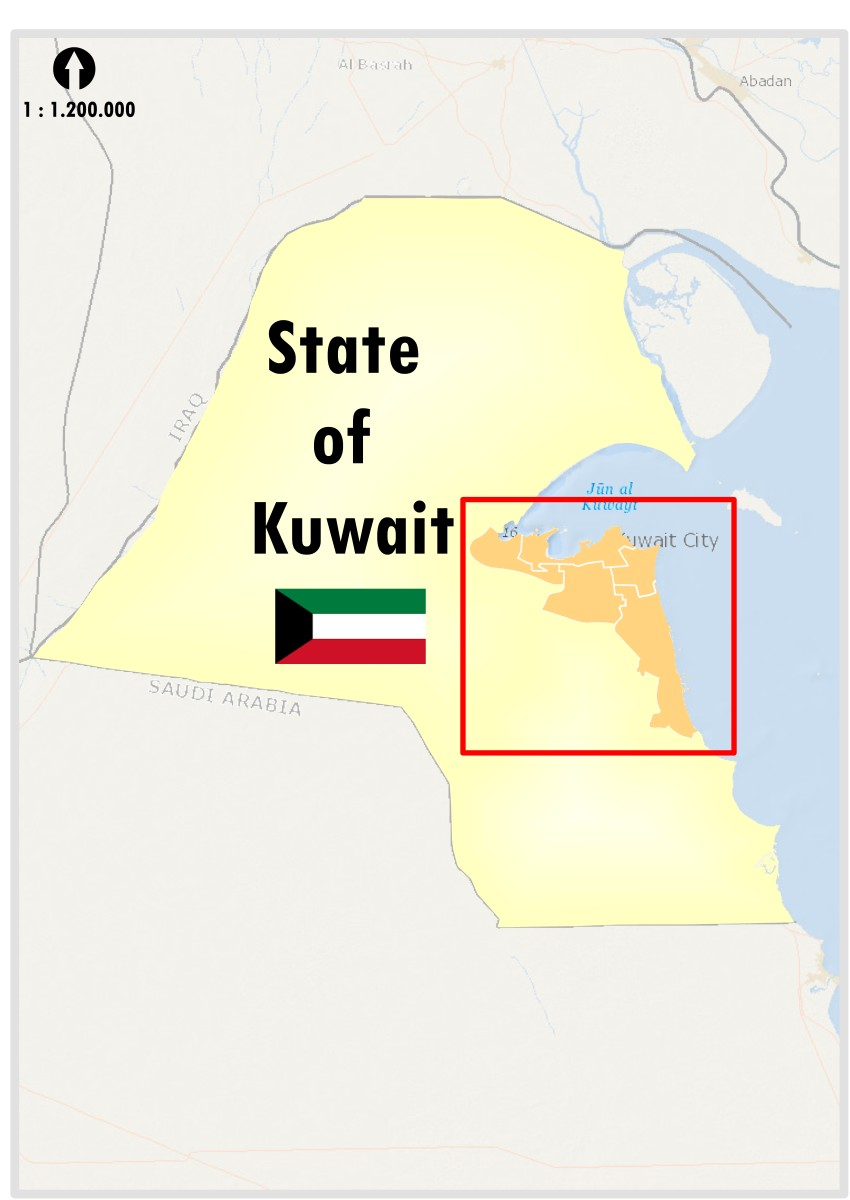 Urban Areas in Kuwait