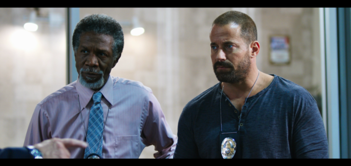 Weaponized follows Detective Mitch Walker (played by Johnny Messner), an officer with untold issues coming off a fresh suspension.