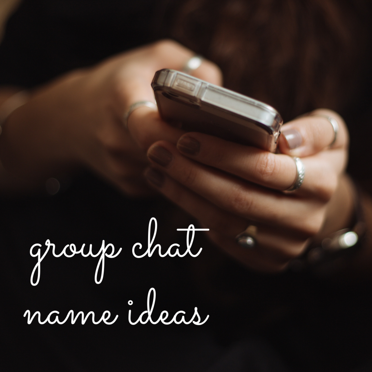 Finding the perfect name for your group chat is easier than you think!