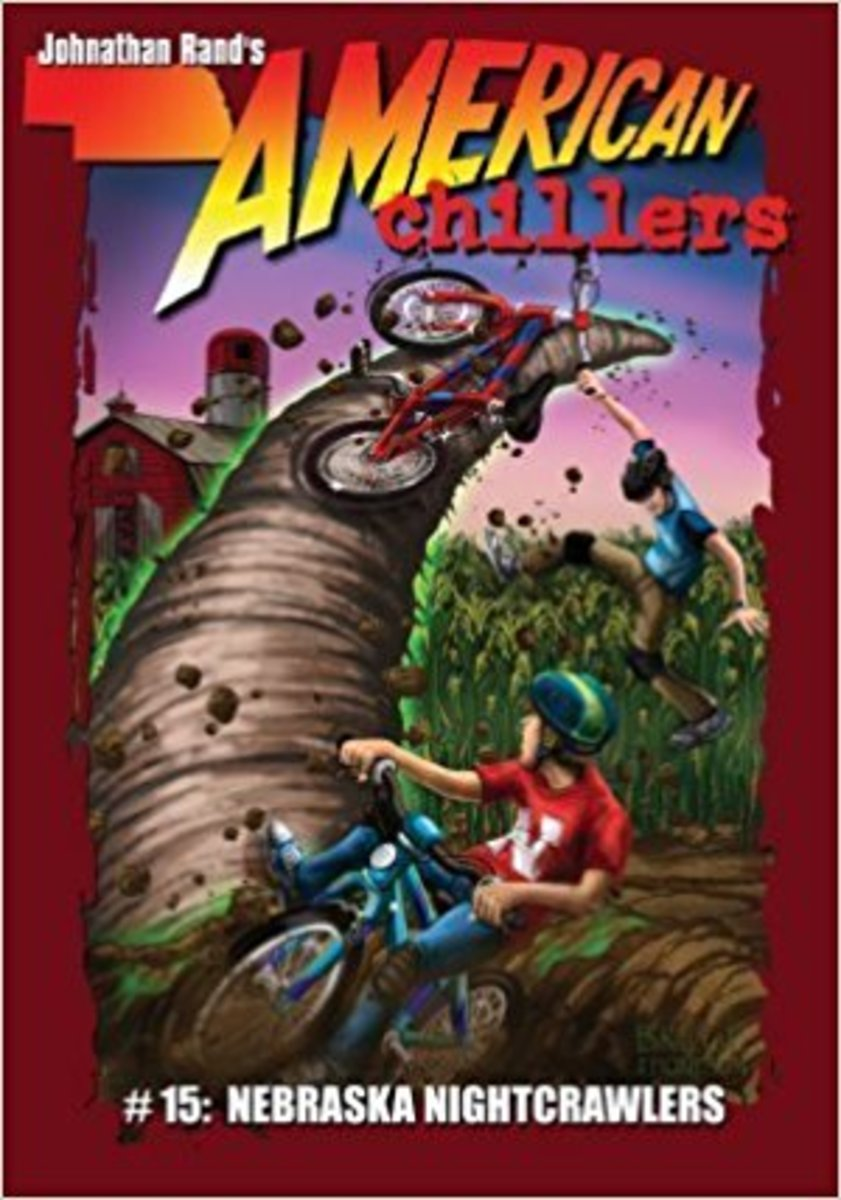 Nebraska Nightcrawlers (American Chillers) by Johnathan Rand