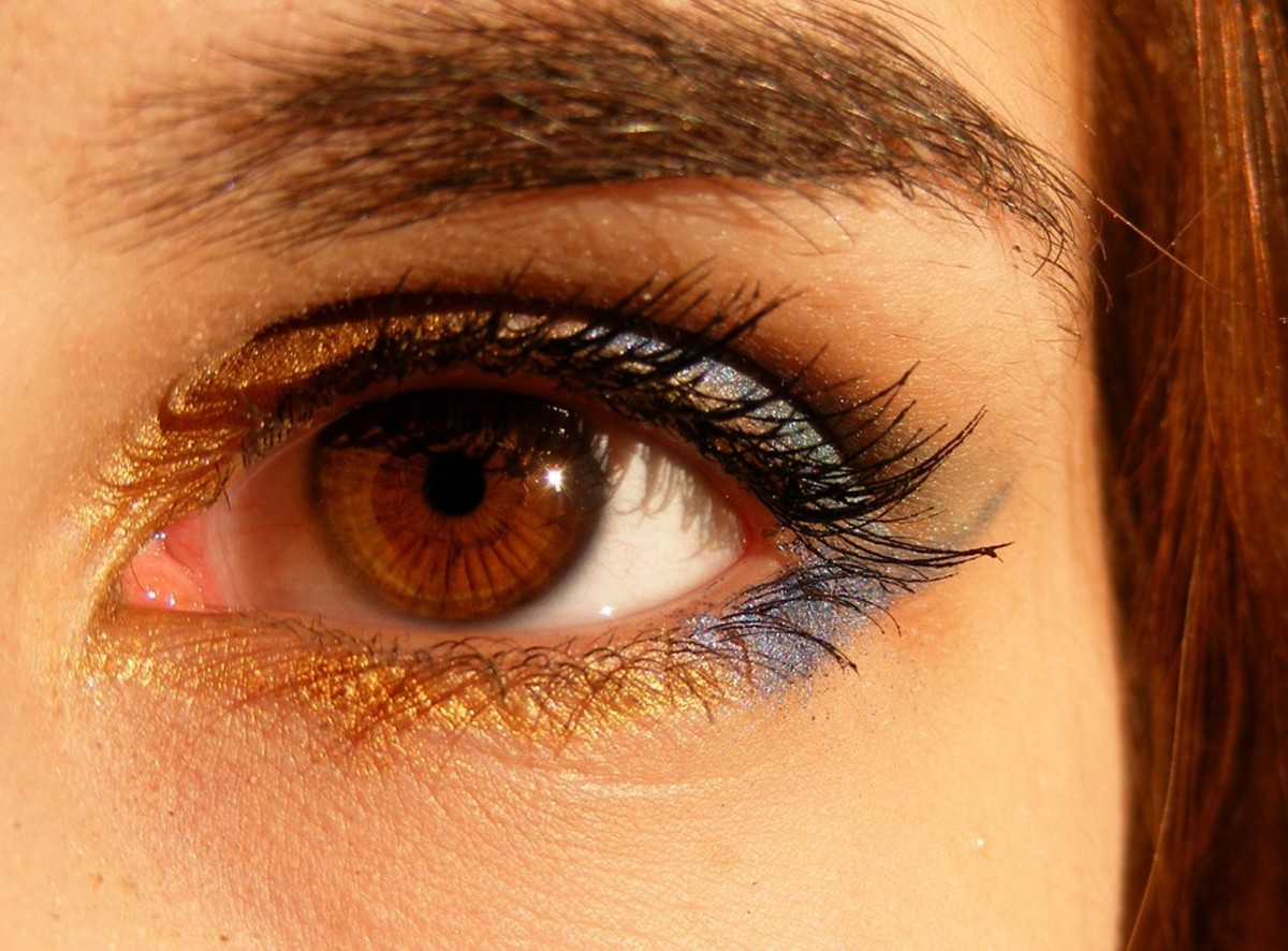 Brown eyes remain the most common colour today.