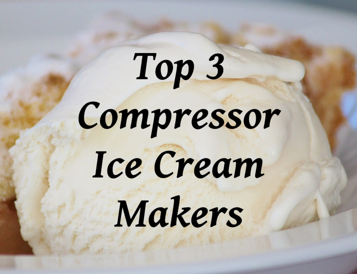 Read on for my favorite three ice cream makers with a compressor built in...