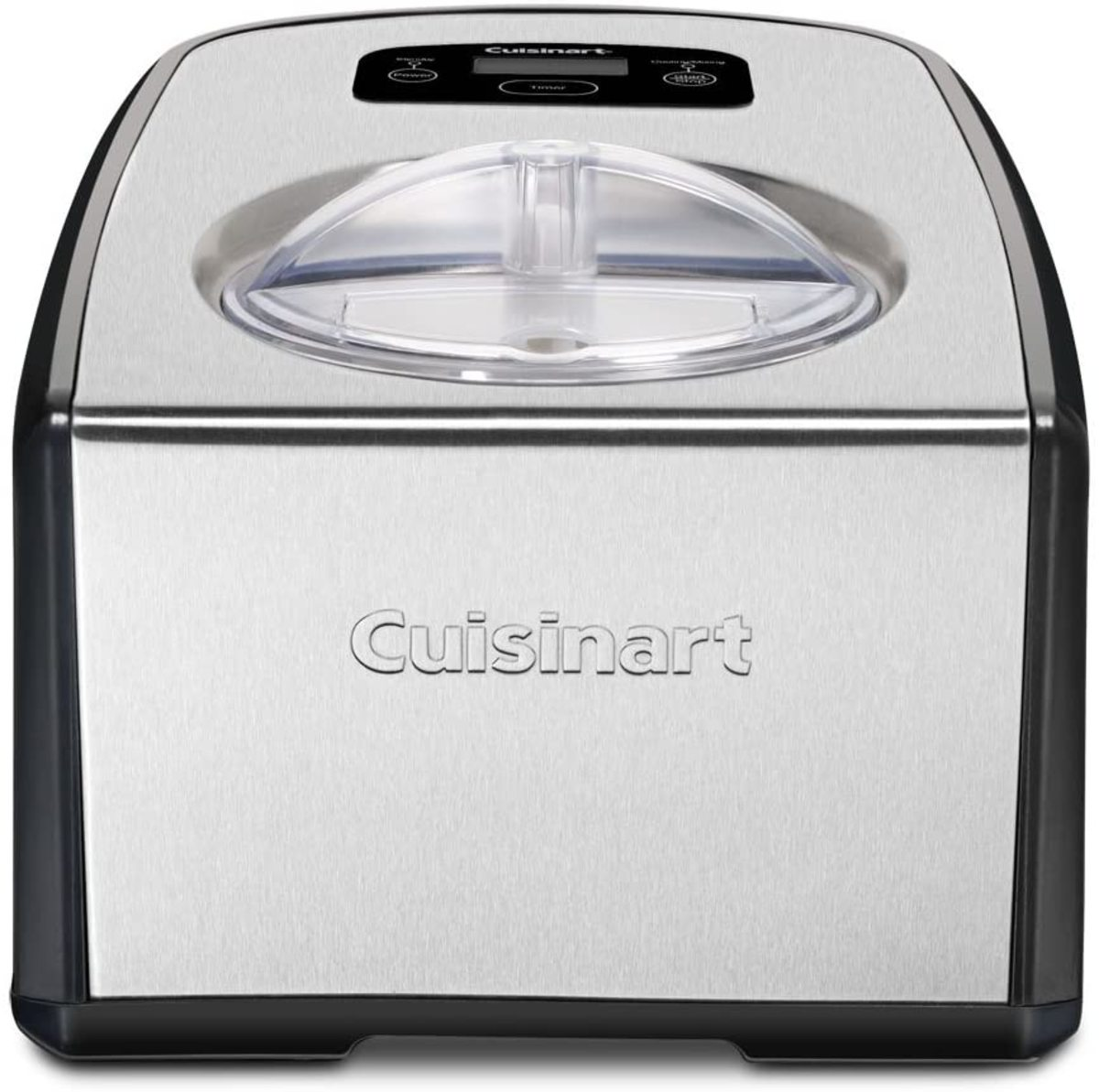 The Cuisinart ICE-100 Compressor Ice Cream and Gelato Maker.