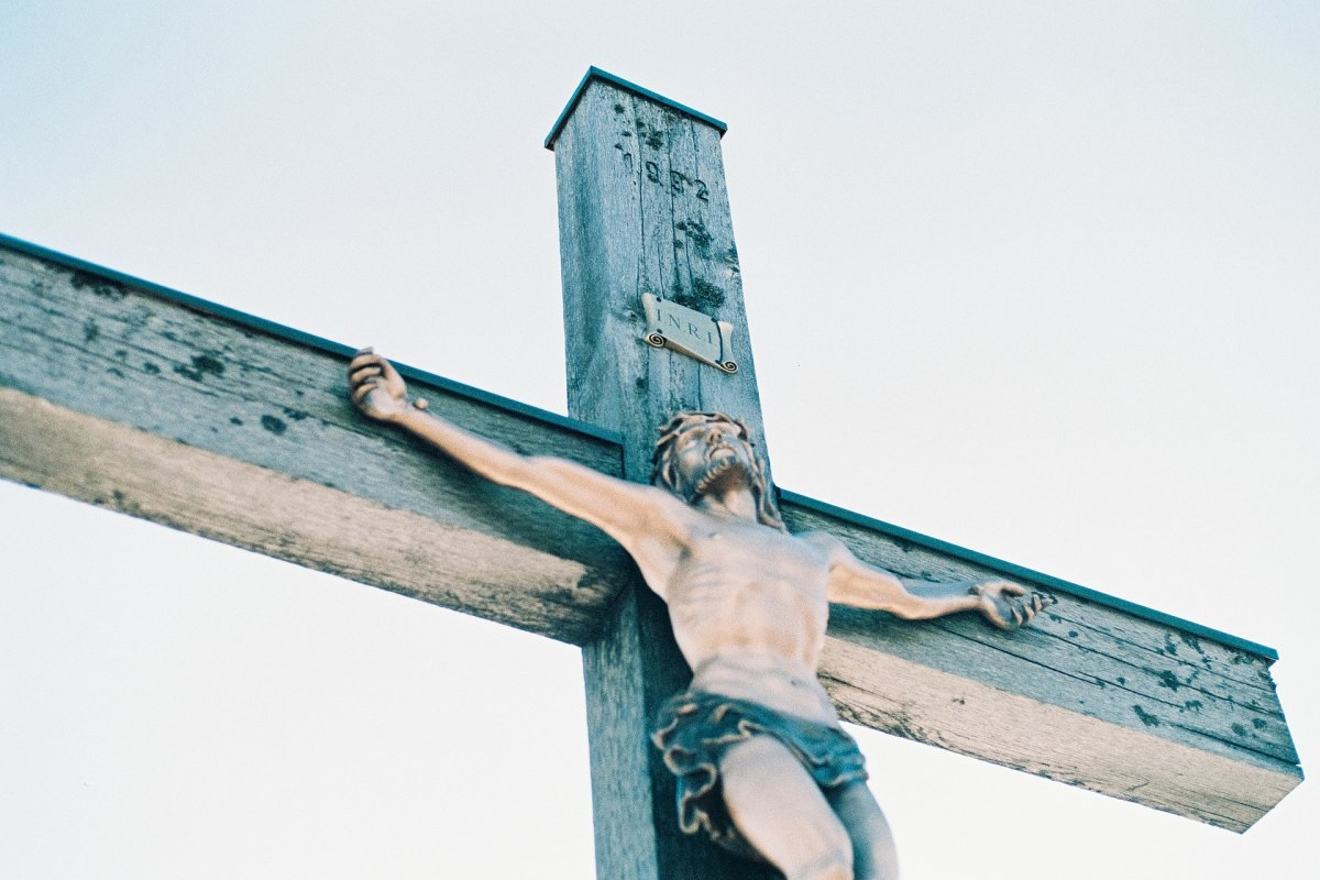"""""""Without the body, the pain, and the blood, the Crucifixion is meaningless."""" —Reed"""