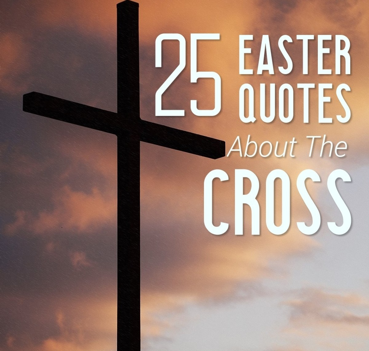The cross is the universal symbol of Christianity.