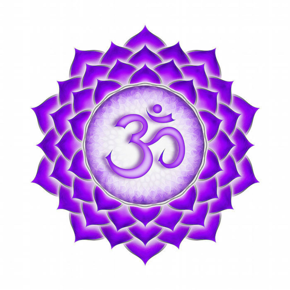 Diamonds are most strongly associated with the crown chakra, and can help aid in spiritual enlightenment.