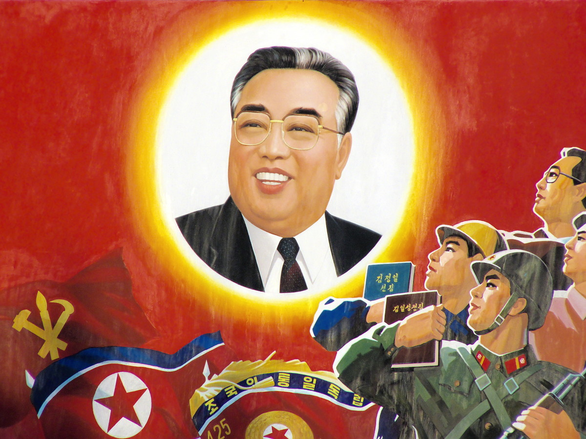 KIM IL-SUNG, DICTATOR OF SOCIALIST NORTH KOREA