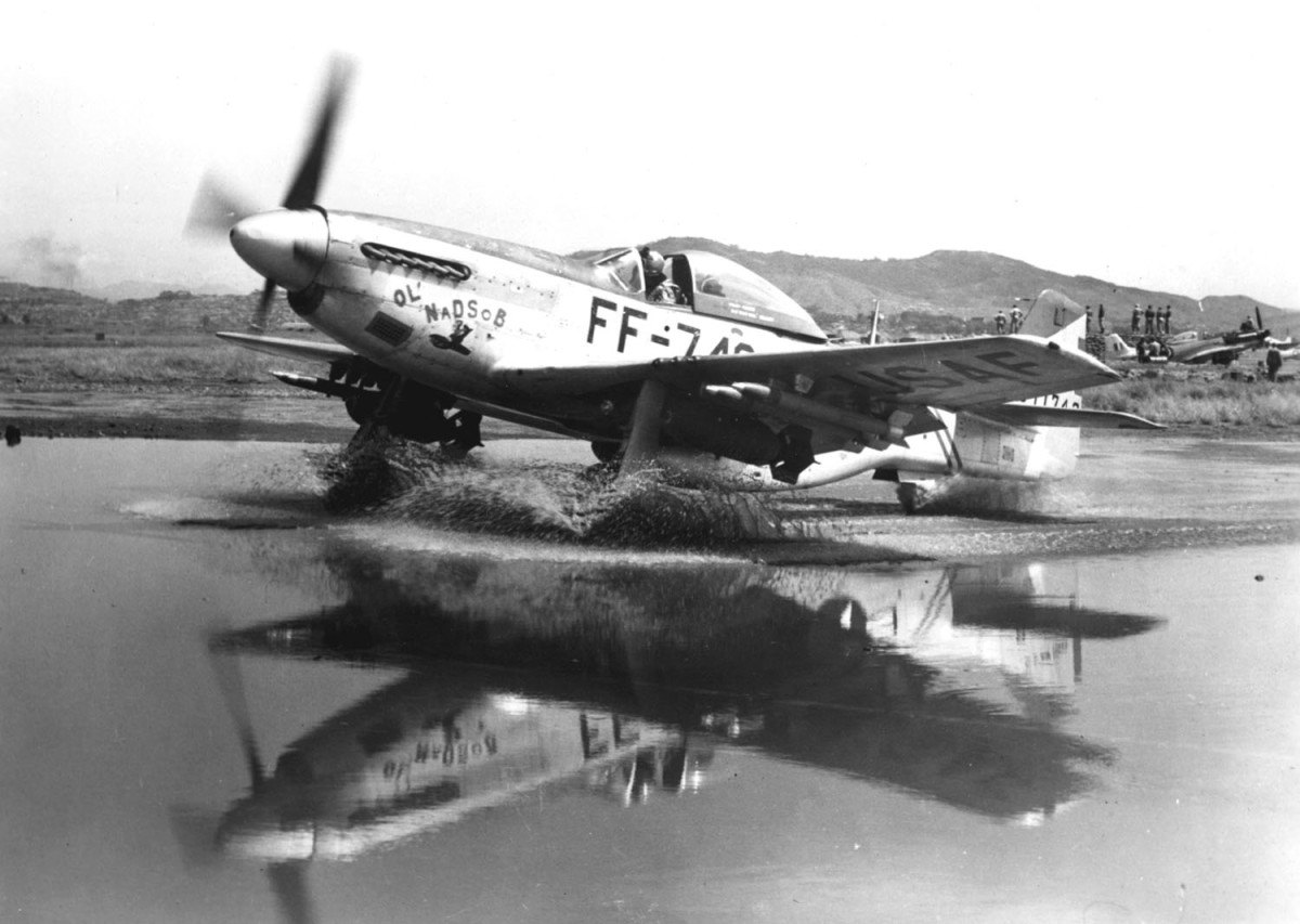 F51 MUSTANGS WOULD PROVIDE CLOSE AIR SUPPORT FOR AMERICAN TROOPS