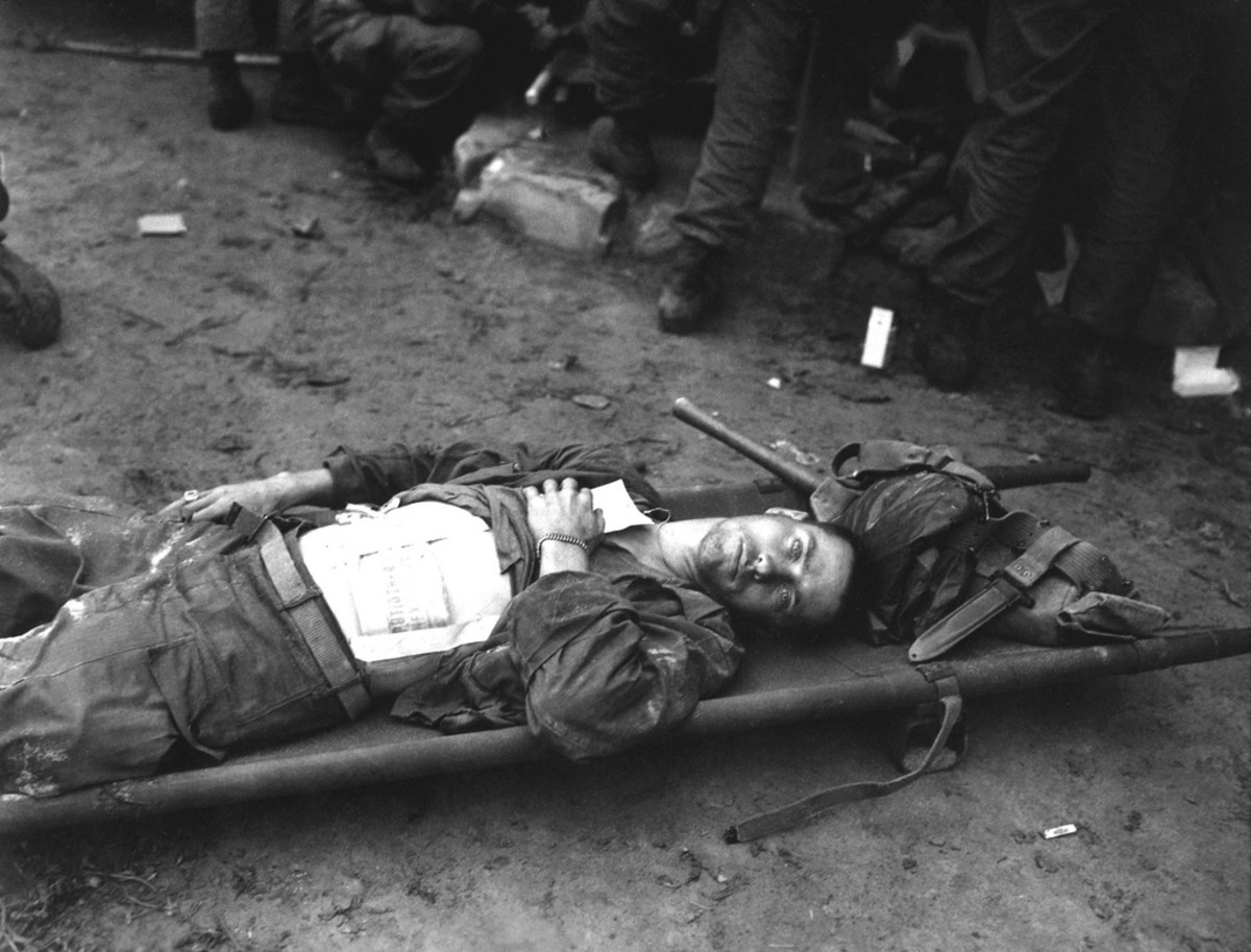 AN EARLY CASUALTY IN THE KOREAN WAR