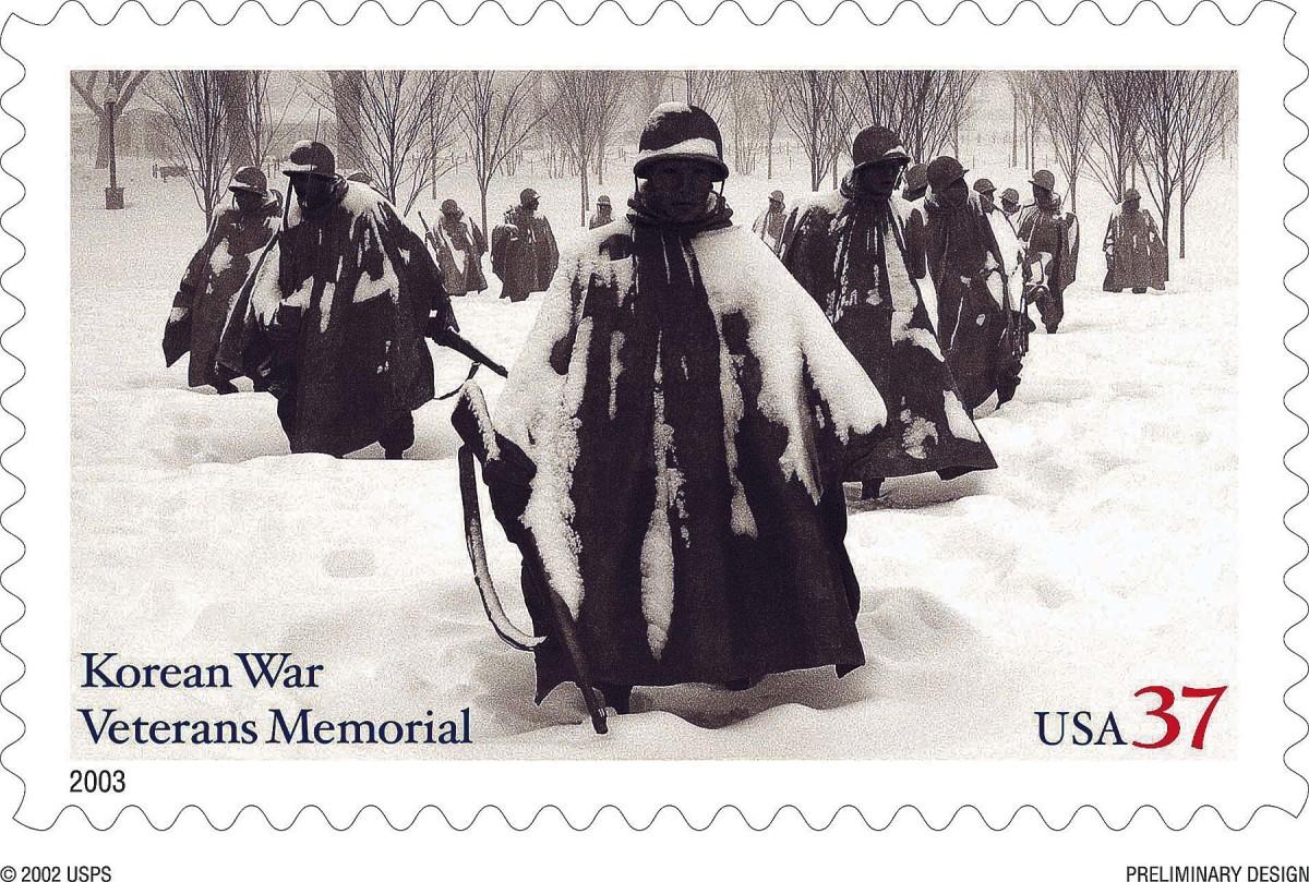 THE KOREAN WAR MEMORIAL, WASHINGTON, D.C.
