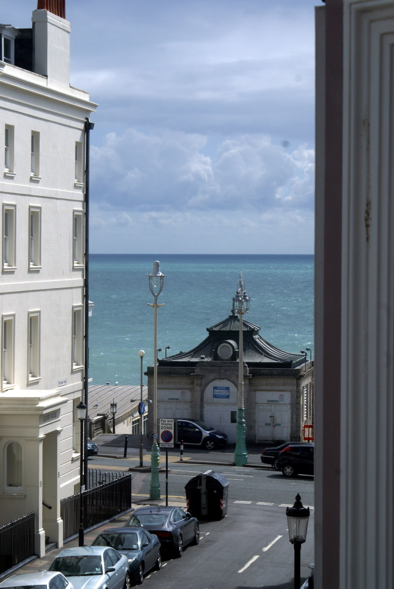 View from the window of Grand Pier Guesthouse