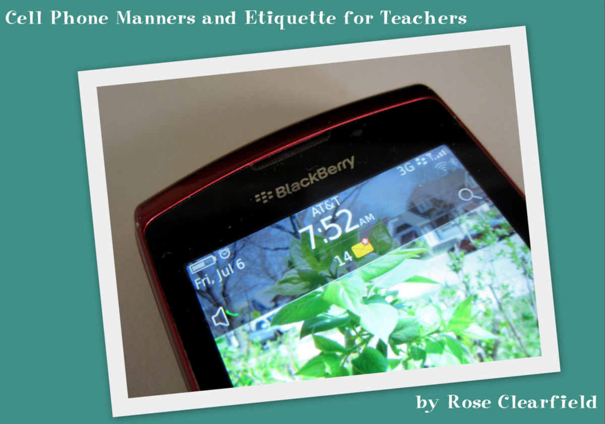 Cell Phone Manners and Etiquette for Teachers