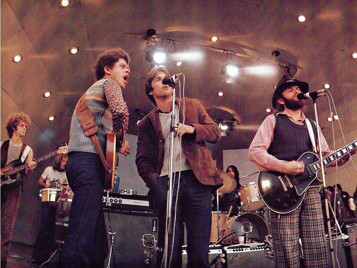 The Beach Boys in concert 1972.