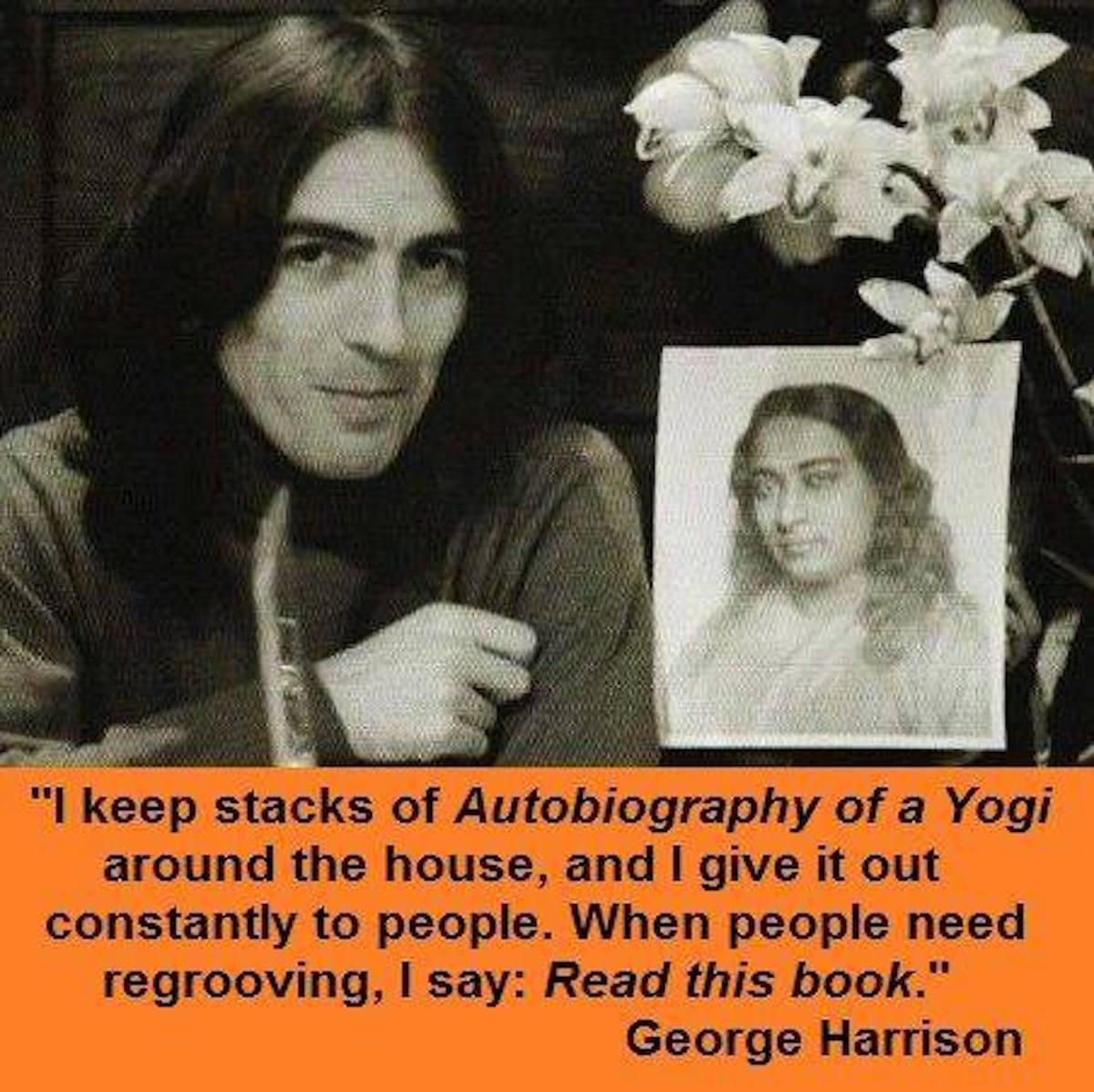 George Harrison & Photo of Guruji