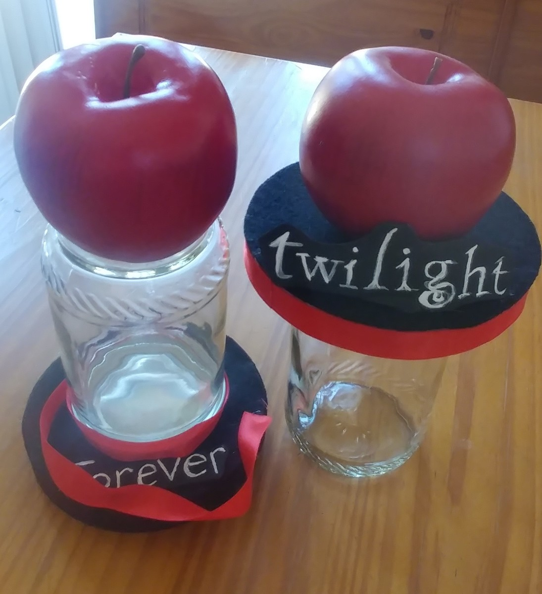 These Twilight mason jars are great to keep things in.