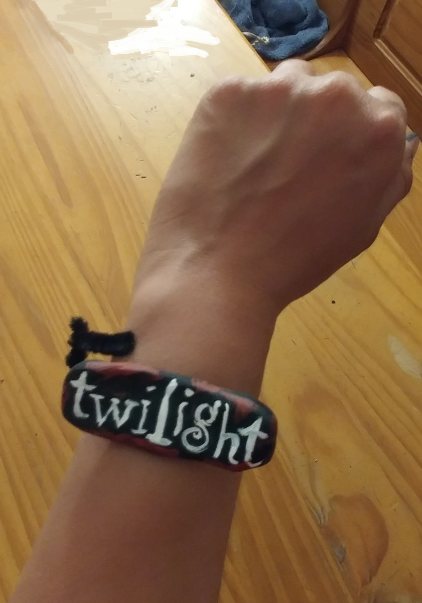 It also may be a Twilight bracelet.