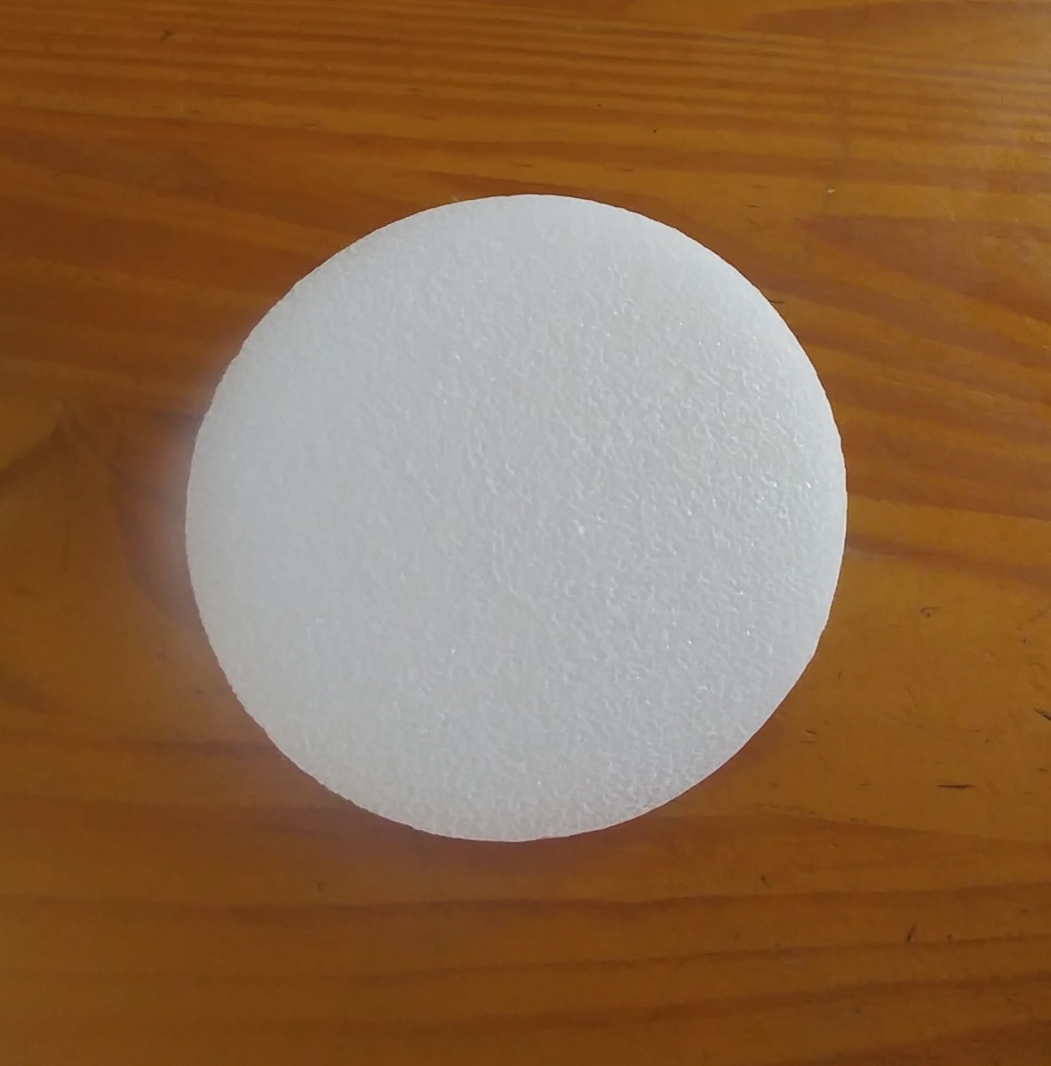 Floral foam circle.