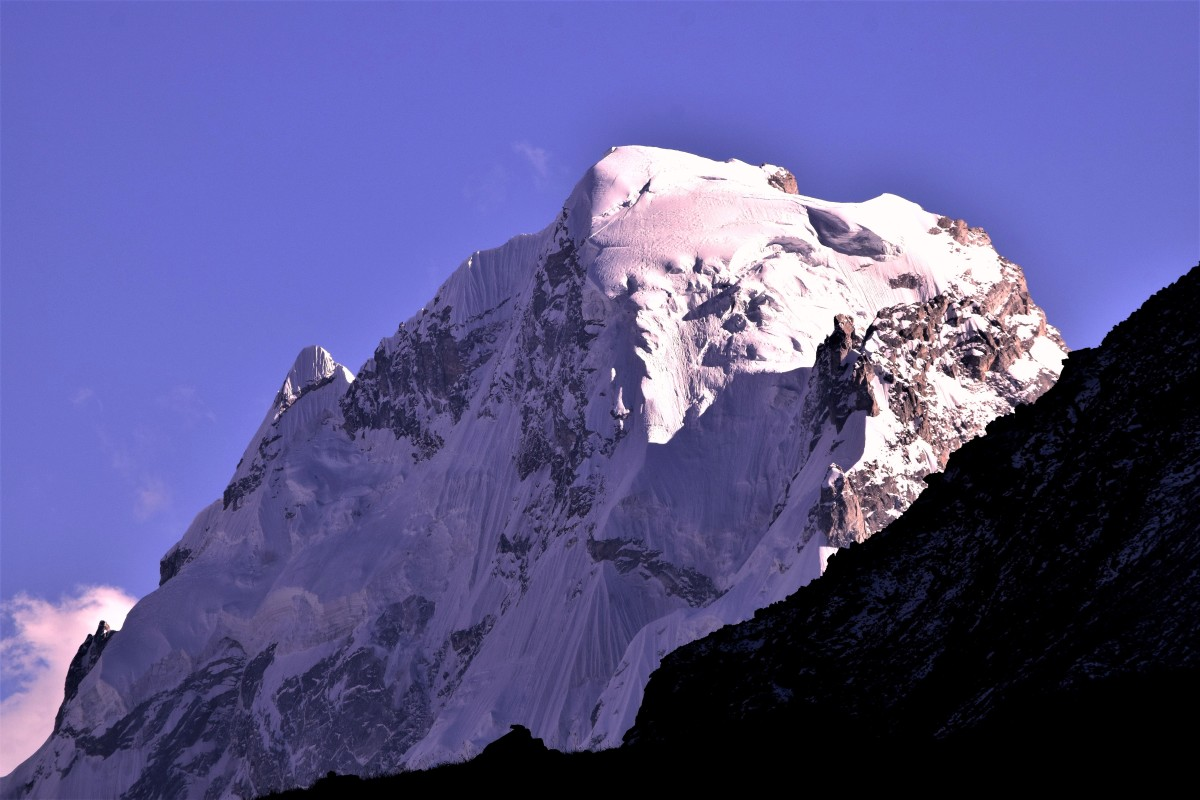 Kedarnath Dome : 30 degrees 48 minutes 31 seconds North, 79 degrees 04 minutes 44 seconds East.