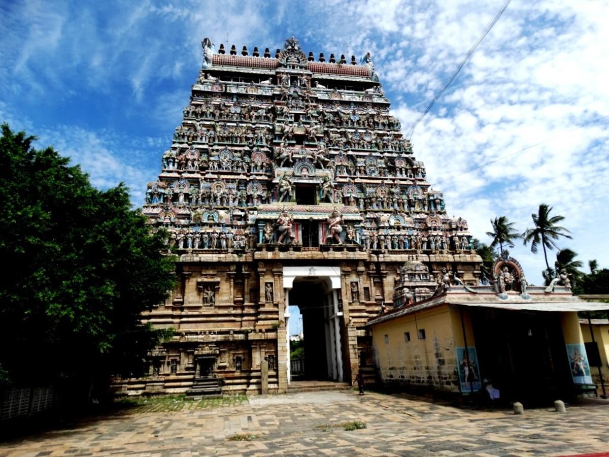 Thillai Nagtaraja temple, chidambaram ; 11 degrees 23 minutes 58 seconds North, 79 degrees 41 minutes 36 seconds East.