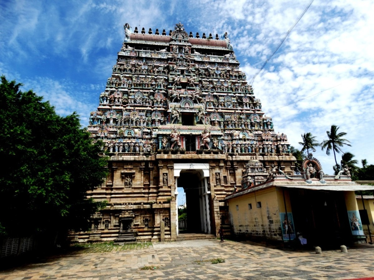 THILLAI NATARAJA (Lord of VYOM or Space or vacuum) -- 11.3993 degrees North, 79.6935 degrees East.