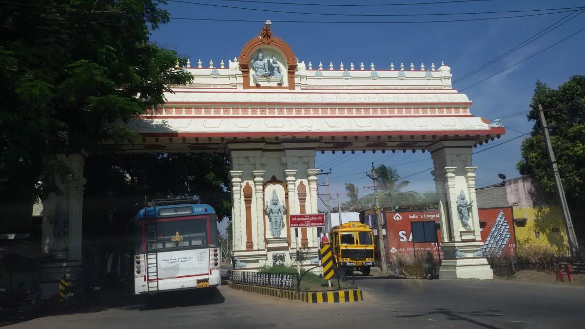 Tirupati Balaji at 13.6807 degrees North, 79.3509 degrees East