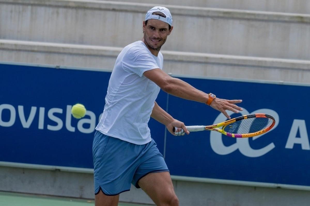 Rafael Nadal image credit:twitter.com/RafaelNadal/