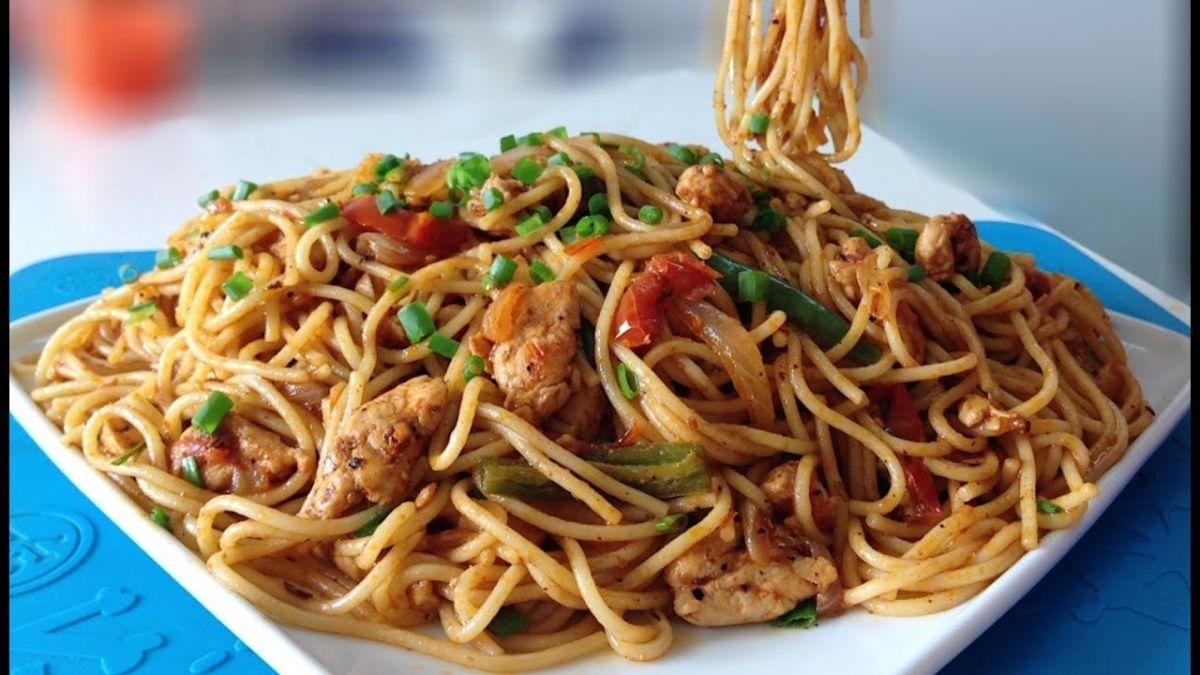 My Mom's Delicious Chicken Spaghetti Recipe