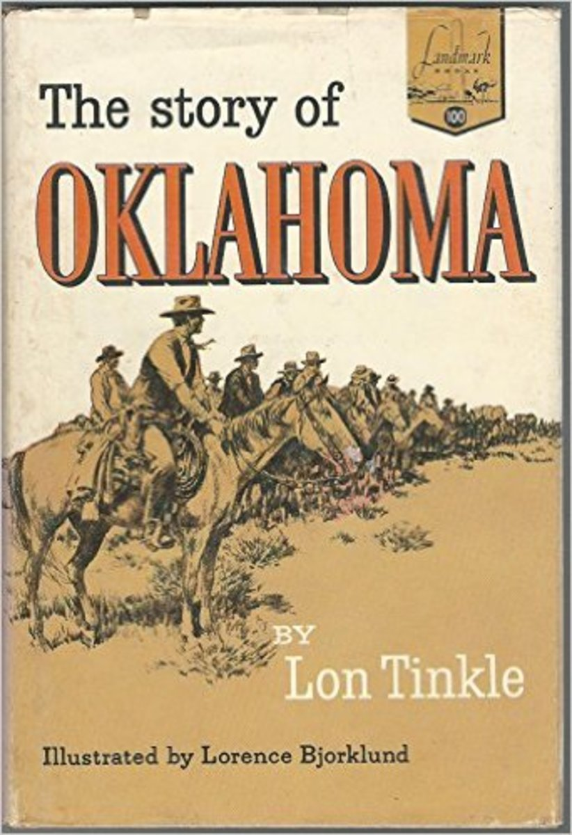 The Story of Oklahoma (Landmark Books, No. 100) by Lon Tinkle