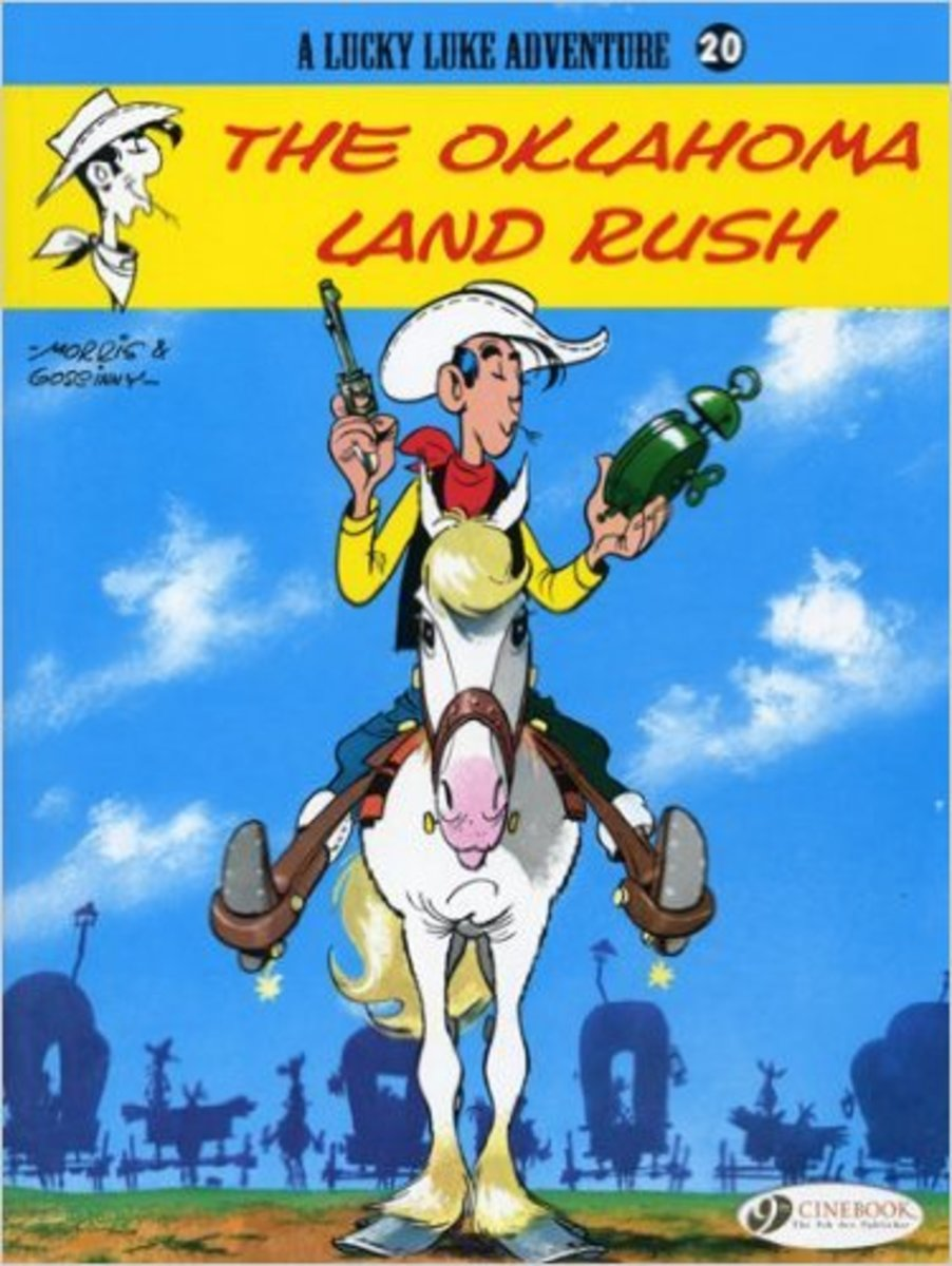 The Oklahoma Land Rush, Lucky Luke #20 by Goscinny