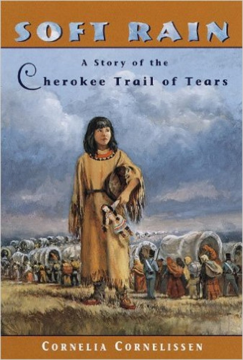Soft Rain: A Story of the Cherokee Trail of Tears by Cornelia Cornelissen