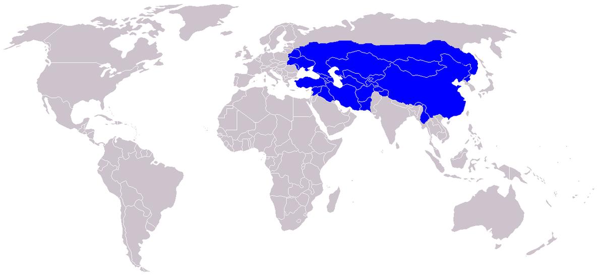 The Mongolian empire.