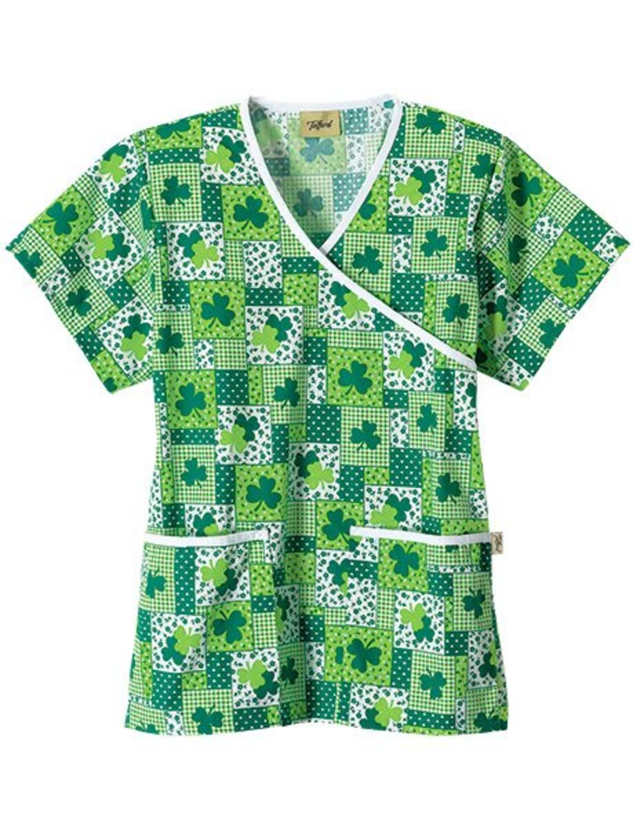Cute St. Patricks Day Scrubs