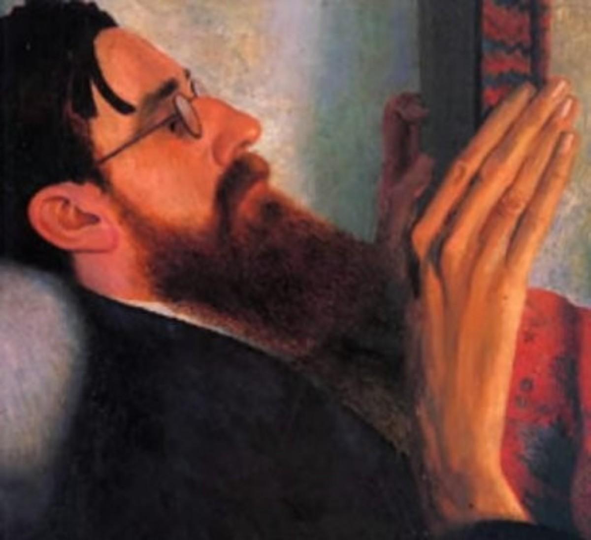Carrington's Portrait of Lytton Strachey