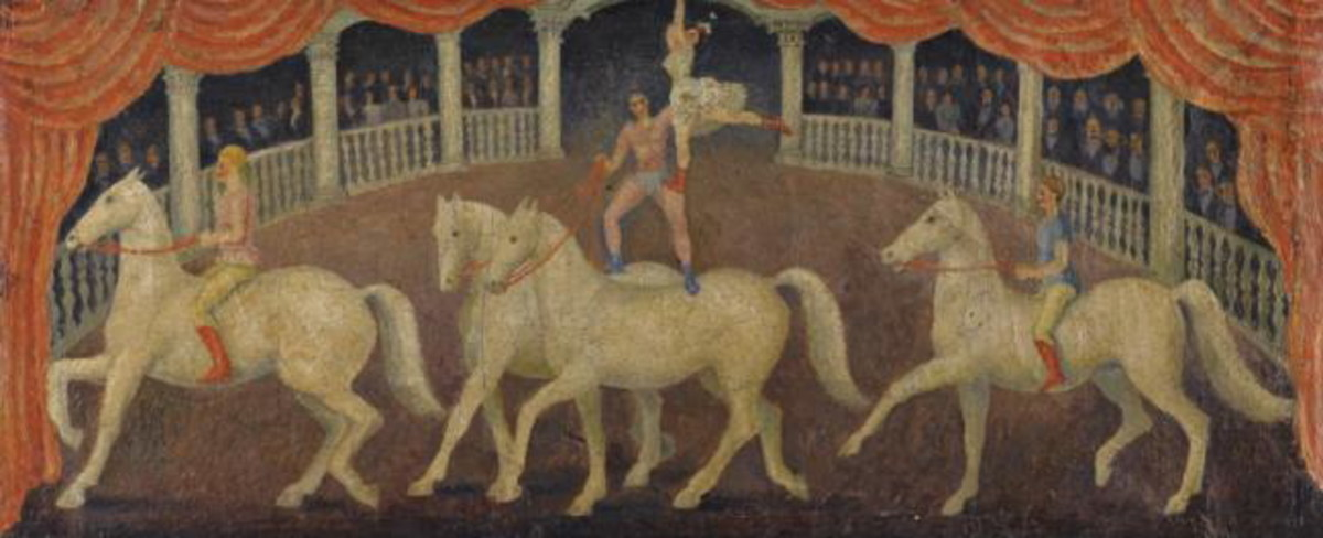 Circus Horses by Dora Carrington