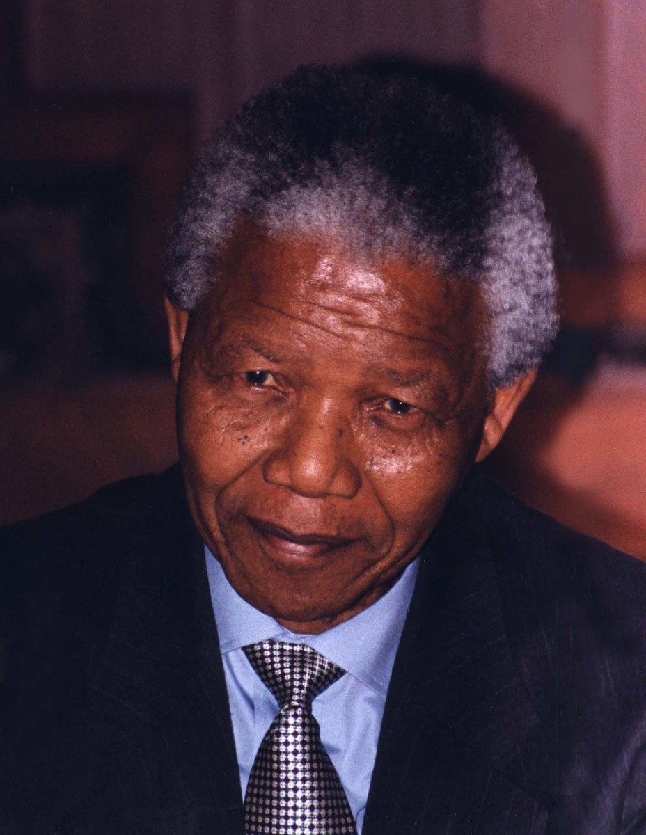 After serving 27 years in prison for opposing apartheid, revolutionary and activitist Nelson Mandela became South Africa's first Black democratically elected president.