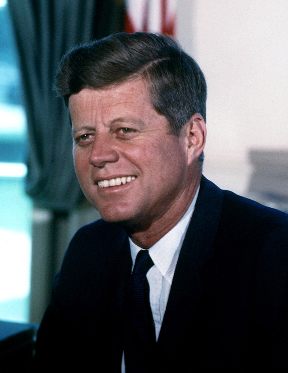John F. Kennedy served as 35th US President, one of the youngest in history and the first Roman-Catholic in the office. He served 1000 days before being assassinated.