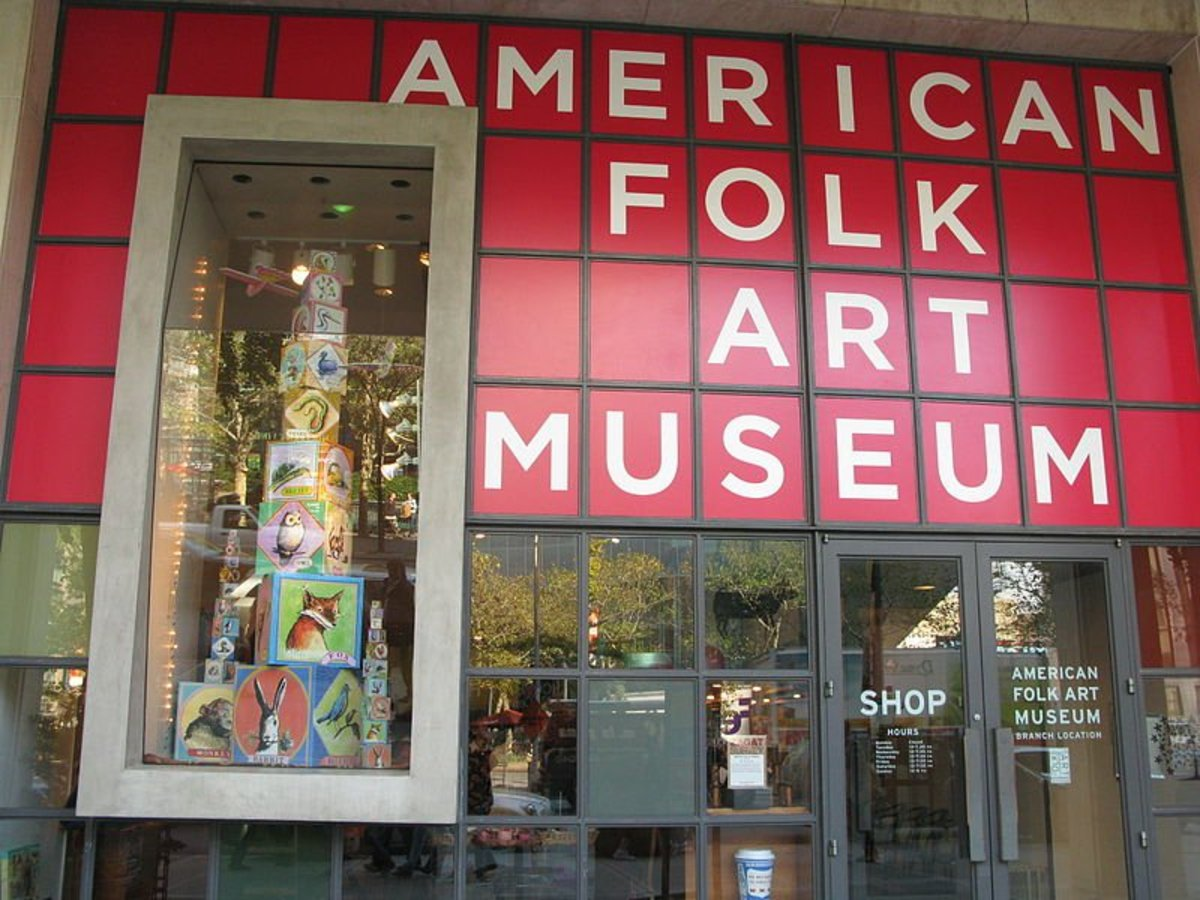 The American Folk Art Museum at 2 Lincoln Square, New York, NY.