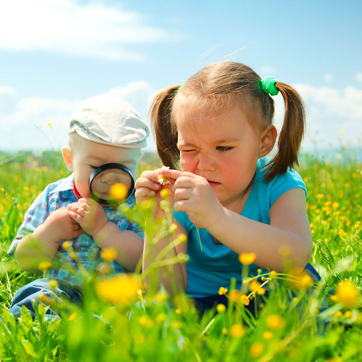 Let Taurus children explore outside.
