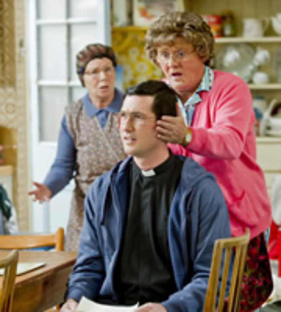 Trevor Brown (Martin Delany) is Mrs Brown's middle son.  Trevor does not appear in the first series, but returns home to be with his mammy in the christmas speical after his term with the missionairies  finishes