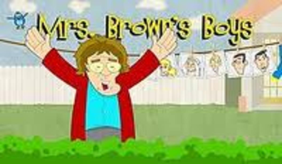 Mrs Brown's Boys Title Screen