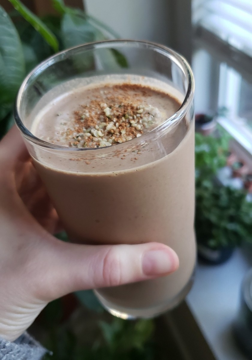 Chocolate Hemp Protein Shake