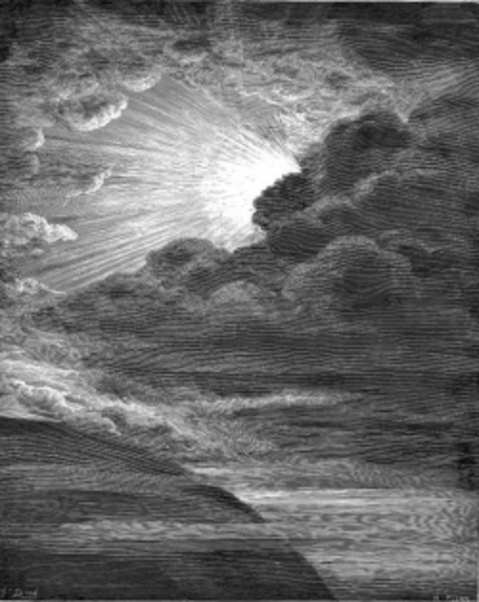 Creation of Light by Gustave Doré