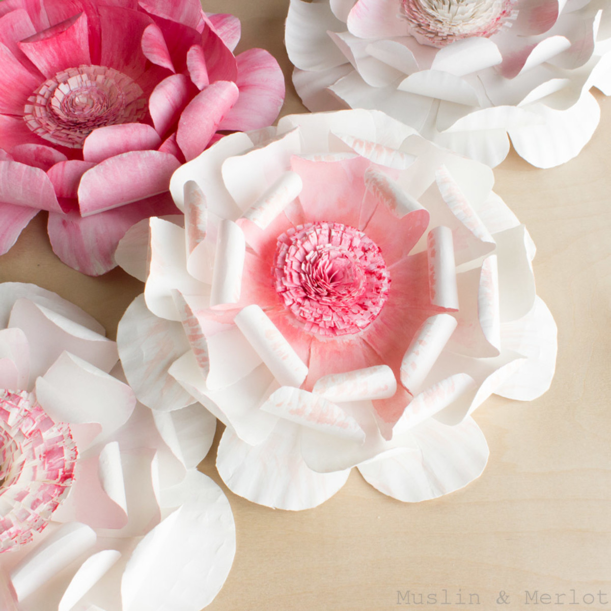Learn to make flowers from paper plates, who knew?